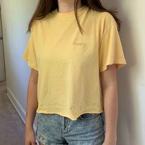 Brandy Melville honey t shirt
